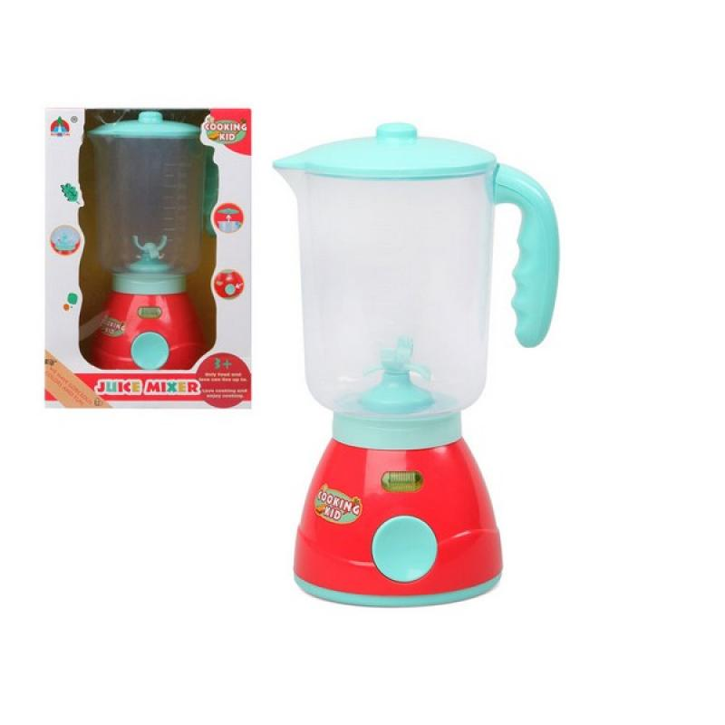 Batidora de Vaso Cooking Kid Rojo Azul