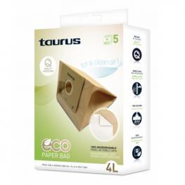 Bolsa de Recambio Para Aspiradora Taurus 999.193 2L Marrón