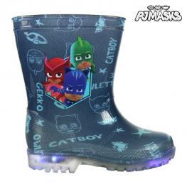 Botas de Agua Infantiles Con Led Pj Masks 73502