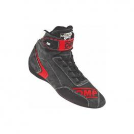 Botines Racing Omp First Evo Rojo (Talla 40)