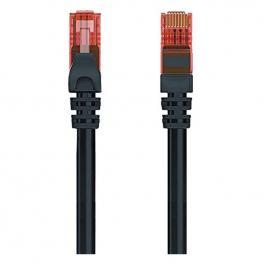 Cable de Red Rígido Utp Categoría 6 Ewent Ew-6U 1000 Mbit/s Negro