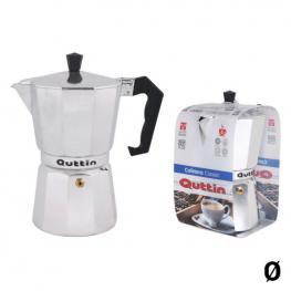 Cafetera Italiana Quttin Aluminio