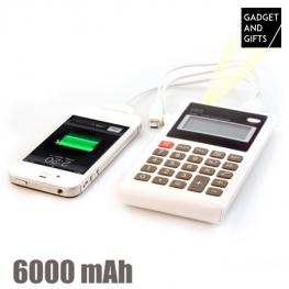 Calculadora Power Bank 6000 Mah Gadget And Gifts