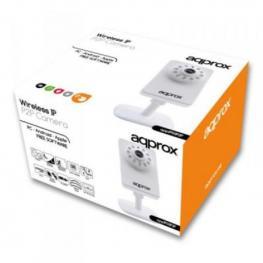 Cámara Ip Approx! Appip03P2P Vga Ir P2P Micro Sd Wifi Blanco