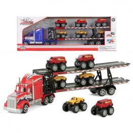 Camión Portavehículos y Coches de Fricción 119489