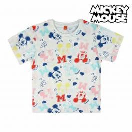 Camiseta de Manga Corta Infantil Mickey Mouse 73717