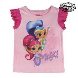 Camiseta de Manga Corta Infantil Shimmer And Shine 72771