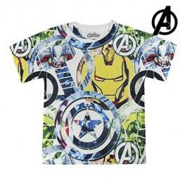 Camiseta de Manga Corta Infantil The Avengers 72636