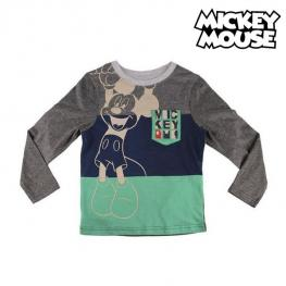 Camiseta de Manga Larga Niño Mickey Mouse 72382