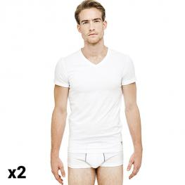 Camiseta Interior de Hombre Guess U77G14-Jr003-A009N (Pack de 2)