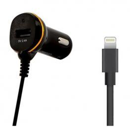 Cargador de Coche One 138222 Usb Cable Lightning Negro
