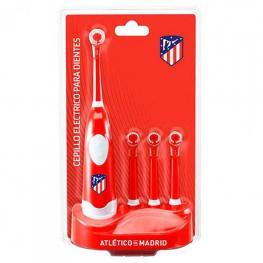 Cepillo de Dientes Eléctrico + Recambio Atlético Madrid Rojo