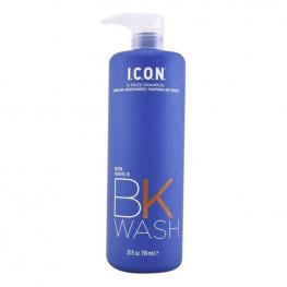 Champú Antiencrespamiento Bk Wash I.C.O.N. (739 Ml)