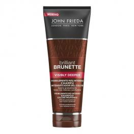 Champú Revitalizador del Color Brilliant Brunette John Frieda (250 Ml)