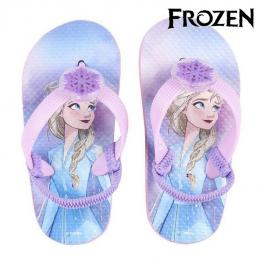 Chanclas Con Led Frozen