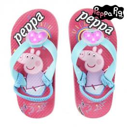 Chanclas Con Led Peppa Pig