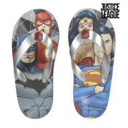 Chanclas Justice League 73004 Gris