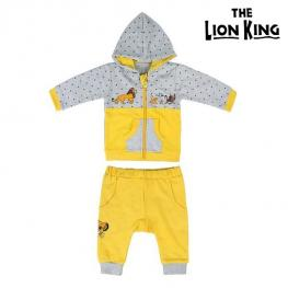 Chándal Infantil The Lion King 74633 Ocre