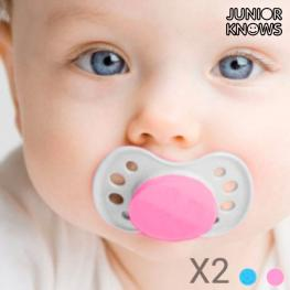 Chupetes Para Bebés Junior Knows (Pack de 2)