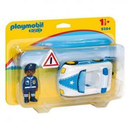 Coche de Policía 1.2.3 Playmobil 9384 (3 Pcs)