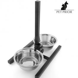 Comedero Para Perros Doble Regulable Pet Prior