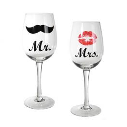 Copas de Vino Mr & Mrs Romantic Items