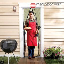 Cortina Magnética Anti Insectos Magneto Mesh