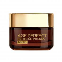 Crema Antiarrugas de Noche Age Perfect L'Oreal Make Up (50 Ml)
