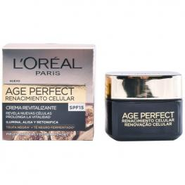 Crema de Día Nutritiva Age Perfect L'Oreal Make Up Spf 15 (50 Ml)