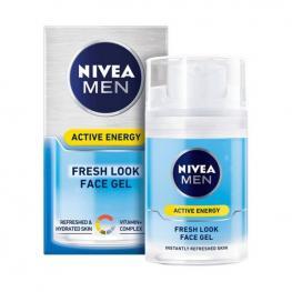 Crema Facial Nutritiva Men Skin Active Energy Nivea (50 Ml)