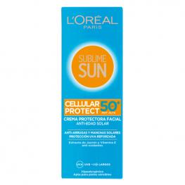 Crema Solar Sublime Sun L'Oreal Make Up Spf 50 (75 Ml)