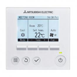 Cronotermostato Para Aire Acondicionado Mitsubishi Electric Par32Maa Blanco