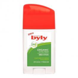 Desodorante En Stick Organic Extra Fresh Byly (75 Ml)
