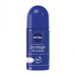 Desodorante Roll-On Protege & Cuida Nivea (50 Ml)