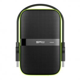 Disco Duro Externo Silicon Power A60 2.5 Usb 3.0 2 Tb Anti-Shock Waterproof Negro