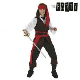 Disfraz Para Adultos Pirata Caribeño (4 Pcs)