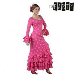 Disfraz Para Adultos Sevillana Rosa