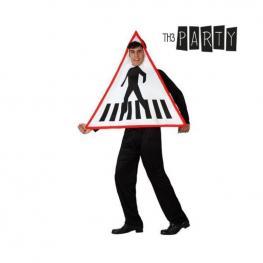 Disfraz Para Adultos Th3 Party 6192 Señal de Tráfico