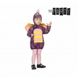 Disfraz Para Bebés Dragón Morado