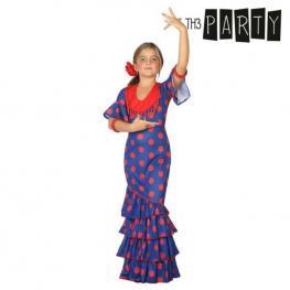 Disfraz Para Niños Bailaora Flamenca Azul