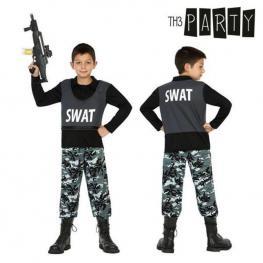 Disfraz Para Niños Policía Swat (2 Pcs)
