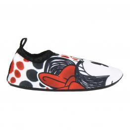 Escarpines Infantiles Minnie Mouse 73874 Rojo