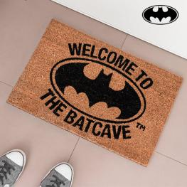 Felpudo Welcome To The Batcave Oh My Home