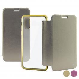 Funda Folio Para Móvil Iphone X/xs Ksix