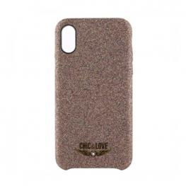 Funda Iphone X-Xs Chic & Love Chcar005 Purpurina Cobre