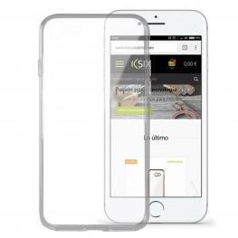 Funda Para Móvil Iphone 8 Ksix Flex Ultrafina Transparente