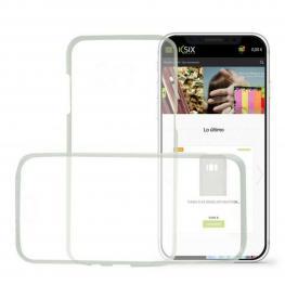 Funda Para Móvil Iphone X Ksix Flex 360 (2 Pcs)