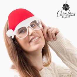 Gafas Con Gorro de Papá Noel Christmas Planet