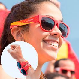 Gafas de Sol Enrollables Sunfold Spain Red
