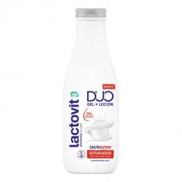 Gel de Ducha Duo Reparador Lactovit (600 Ml)